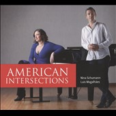 'American Intersections' - Works for Two Pianos by Barber, Bolcom, Copland, Rzewski & Adams / Nina Schumann & Luis Magalhães, pianos