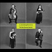 Cinemaphonia - classical works used in films by Janacek, Borodin, Haydn, Mozart, Shostakovich & Barber; Alexey Steblev: 'Moviemusic. Quartet' (2014) / New Russian Quartet