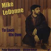 Mike LeDonne: To Each His Own