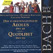 Edition Bachakademie Vol 63 - Secular Cantatas BWV 205, 524