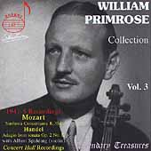 Legendary Treasures - William Primrose Collection Vol 3