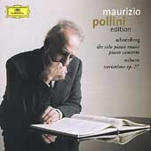 Pollini Edition - Schoenberg: Piano Concerto, etc;  Webern