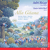 Alla Gitana - Music for Clarinet and Piano / Moisan, Baril