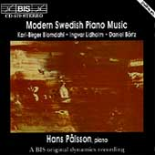 Modern Swedish Piano Music / Hans Pålsson