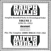 Ralph Willis: Complete Works, Vol. 2: 1951-1953 *