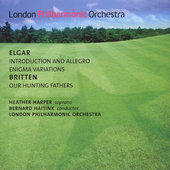 Elgar: Enigma Variations, etc;  Britten / Harper, Haitink