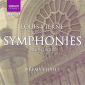 Vierne: Symphonies pour orgue / Jeremy Filsell