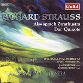 Strauss: Don Quixote, Also Sprach Zarathustra / Yu, et al