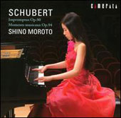 Franz Schubert: Impromptus / Shino Moroto, piano