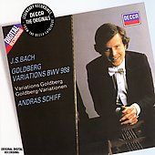 Bach: Goldberg Variations BWV 988 / Andr&aacute;s Schiff