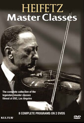 Heifetz: Master Classes [2 DVD]
