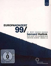 Europakonzert, 1999 at St. Mary Church, Krakow - Mozart: Mass in C minor; Exsultate jubilate; Chopin: Piano Concerto no 2; Schumann: Symphony no 1 / Emanuel Ax, Christine Schafer [Blu-Ray]
