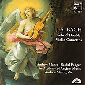 Bach. Violin Cti, Double Cto. A.manze, R.podger, Aam, A.manz