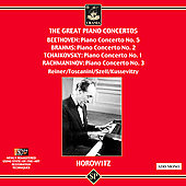 The Great Piano Concertos - Beethoven, etc / Horowitz