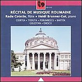 Recital of Romanian Music / Radu Cotutiu, Heidi Brunner-Gut