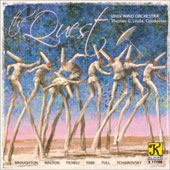 Walton: The Quest;  Broughton: Silverado Overture;  Tchaikovsky: The Maid of Orleans, etc / Leslie, UNLV Wind Orchestra