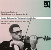Beethoven: Violin Concerto;  Haydn: Symphony no 94 / Wolfgang Schneiderhan, Sergiu Celibidache, et al