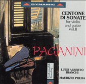 Paganini: Centone di Sonata for violin and guitar, Vol. 2