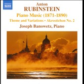 Anton Rubinstein: Piano Music