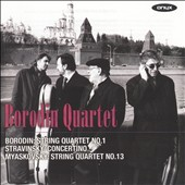 Borodin: String Quartet No. 1; Stravinsky: Concertino