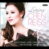 Liasons: Arias by Mozart, Haydn, Cimarosa, Salieri / Chen Reiss, soprano