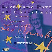 Sowerby: Love came down at Christmas, etc / Snyder, et al