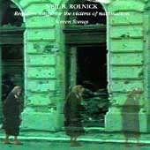 Rolnick: Requiem Songs, Screen Scenes