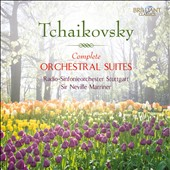 Tchaikovsky: Complete Orchestral Suites (4) / Neville Marriner