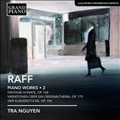 Joachim Raff: Complete Piano Works, Vol. 2 / Tra Nguyen, piano