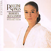 Puccini: Songs and Other Rare Pieces / Roberta Alexander