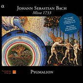 Johann Sebastian Bach: Missa 1733 (Mass in B minor, short form) / Pygmalion Ensemble - Rapha&euml;l Pichon