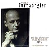 Furtwängler - Best of the Early Studio Recordings 1929-1943