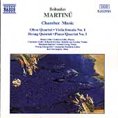 Martinu: Chamber Music - Oboe Quartet, Viola Sonata, etc