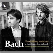 Bach: The Goldberg Variations transcribed for 2 guitars / Sebastien Llinares and Nicolas Lestoquoy, guitars