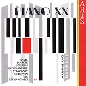 Piano XX Vol 1 - Ravel, Janácek, Scriabin, et al / Damerini