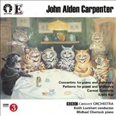John Alden Carpenter (1876-1951): Concertino for Piano & Orchestra; Patterns for Piano and Orchestra; Carmel Concerto; Krazy Kat / Michael Chertock, piano; BBC Concert Orch., Lockhart