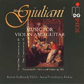 Giuliani: Duo Concertant, etc / Kussmaul, Prunnbauer