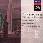 Beethoven: The Cello Sonatas / Harrell, Ashkenazy