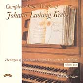 Krebs: Complete Organ Works Vol 2 / John Kitchen