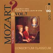 ?Mozart! Vol 7 - Gran Partita, etc / Consortium Classicum