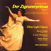 Kalman: Der Zigeunerprimas / Thompson, Ohio Light Opera