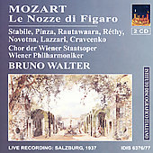 Mozart: Le Nozze di Figaro / Walter, Pinza, Stabile, et al