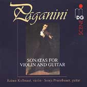 SCENE  Paganini: Sonatas for Violin & Guitar / Kussmaul, etc