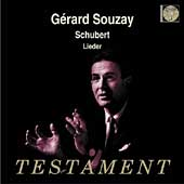 Schubert: Lieder / G&eacute;rard Souzay