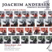Joachim Anderson: Works for Flute and Orchestra /Jensen, etc