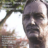 Mozart: Requiem;  Pfl&#252;ger: Memento mori / Dieter Kurz, et al