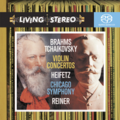 Brahms, Tchaikovsky: Violin Concertos / Heifetz, Reiner