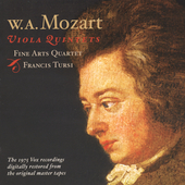 Mozart: Complete Viola Quintets / Fine Arts Ensemble