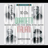 Quartetti Italiani - Malipiero, etc / Venice String Quartet