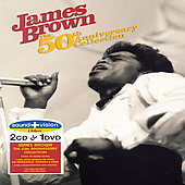 James Brown: 50th Anniversary Collection [2 CD & DVD]